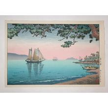 風光礼讃: Maiko Beach — 舞子の濱 - Japanese Art Open Database