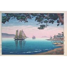 Tsuchiya Koitsu: Maiko Beach — 舞子の濱 - Japanese Art Open Database