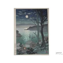 風光礼讃: Maizuru Harbor at Night - Japanese Art Open Database
