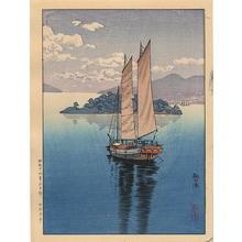 Tsuchiya Koitsu: Port Tomo — 鞆の港 - Japanese Art Open Database