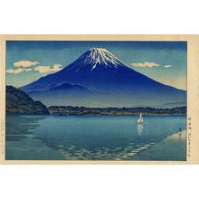 風光礼讃: Shoji Lake (Mt Fuji) — 精進湖(しょうじ) - Japanese Art Open Database