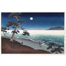 Tsuchiya Koitsu: Suma Beach — 須磨の浦 - Japanese Art Open Database