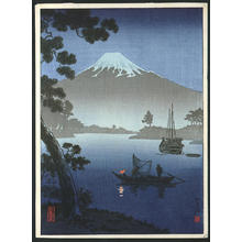 風光礼讃: Tago Bay (Shizuoka) - Japanese Art Open Database