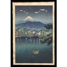 Tsuchiya Koitsu: Tokaido Numazu Harbor - Japanese Art Open Database