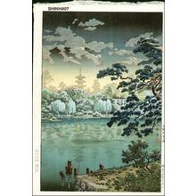 風光礼讃: Ueno Shinobazu Pond - Japanese Art Open Database