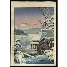 風光礼讃: Yaizu No Hara - Tokaido, or Yakitsugahara — 東海道焼津の原 - Japanese Art Open Database