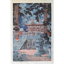 風光礼讃: Nikko Yomei Gate - Japanese Art Open Database