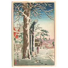 風光礼讃: Yushima Tenjin Shrine - Japanese Art Open Database