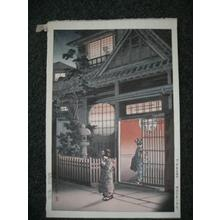 風光礼讃: Teahouse - Yotsuya Arakicho - Japanese Art Open Database