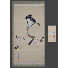 北野恒富: Sleeping Genroku bijin - Japanese Art Open Database