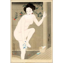 Tsuyahisa: Before the Bath - Japanese Art Open Database