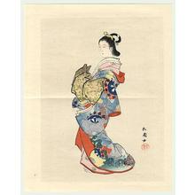 Uemura Shoen: Bijin in Kimono - Japanese Art Open Database