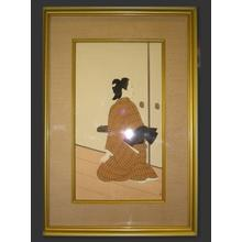 Uemura Shoen: Kagamiyama Woman — 鏡山のはつ女 - Japanese Art Open Database