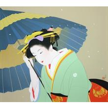 Uemura Shoen: Snow — 雪 - Japanese Art Open Database