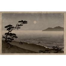 無款: Suma beach - Japanese Art Open Database