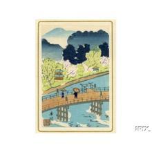 無款: Unknown bridge scene - Japanese Art Open Database