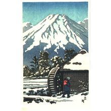 無款: Waterwheel - Japanese Art Open Database