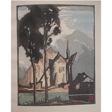 Urushibara Mokuchu: The Mill (Dixmuden) - Japanese Art Open Database
