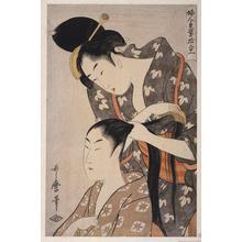 Kitagawa Utamaro: Hairdresser - Japanese Art Open Database