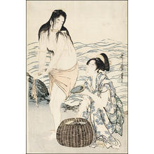 喜多川歌麿: Awabi Divers - Japanese Art Open Database