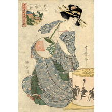 Kitagawa Utamaro: Bijin and Magic Lantern - Japanese Art Open Database