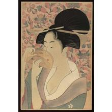 Kitagawa Utamaro: Hair Comb - Japanese Art Open Database
