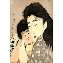 Kitagawa Utamaro: Yamauba and Kintoki - repro - Japanese Art Open Database