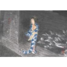 Wada Sanzo: Autumn wind — 秋風 - Japanese Art Open Database