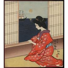 Wada Sanzo: Bijin - Japanese Art Open Database