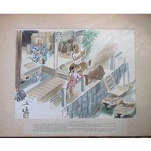 和田三造: Inn for Sailors - Japanese Art Open Database