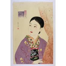 Watanabe Ikuharu: February - Early Spring — 梅見月 早春 - Japanese Art Open Database