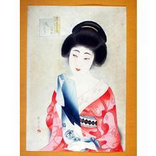 Watanabe Ikuharu: June - After a Bath — 風待月 湯上り - Japanese Art Open Database