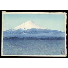 Watanabe Kako Shozaburo: Lake Kawaguchi — 河口湖 - Japanese Art Open Database
