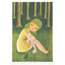 Watanabe Yuji: Forest Girl - Japanese Art Open Database