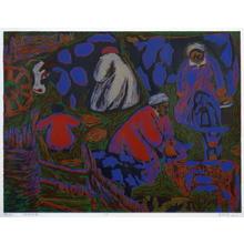 Wu Enqi: Milking - Japanese Art Open Database