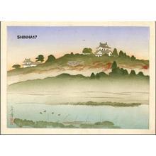 Yamaguchi Hoshun: Hikone Castle - Japanese Art Open Database