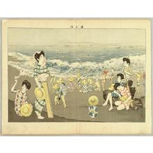 山本昇雲: Seaside — 海水・ - Japanese Art Open Database