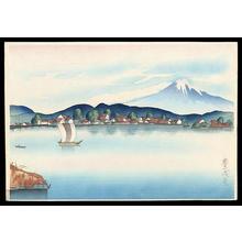 Yamamura Koka: View of Fuji from Izumo - Japanese Art Open Database