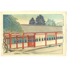 Yamashita Shintaro: Kasuga Shrine in Nara — 奈良春日神社廻廊 - Japanese Art Open Database
