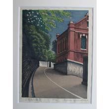 Yamataka Noboru: The Rear of Ueno Ryodaishi — 上野両大師裏 - Japanese Art Open Database