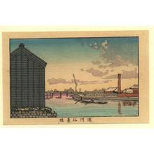 井上安治: Fukugawa Sendaihori - Japanese Art Open Database