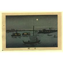 井上安治: Nakasu - Japanese Art Open Database