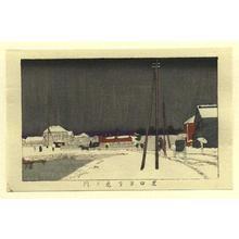 井上安治: Shibaguchi Yori Tora no Mon - Japanese Art Open Database