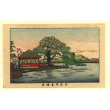 井上安治: The grounds of Mukaishima Akiba (Mukaishima Akiba Keida) - Japanese Art Open Database
