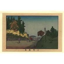 井上安治: Ueno Arasaka - Japanese Art Open Database
