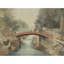 Yokouchi: Sacred Bridge, Nikko - Japanese Art Open Database