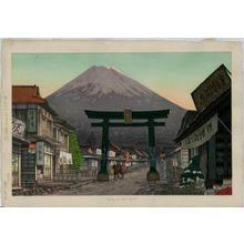 Yokouchi Ginnosuke: Mt Fuji from Gotenba - Japanese Art Open Database