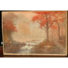 Yoshida A: Forest River in Autumn - Japanese Art Open Database