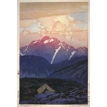 吉田博: Morning on Mt.Tsurugi - Japanese Art Open Database