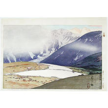 吉田博: Tateyama Betsuzan - Japanese Art Open Database